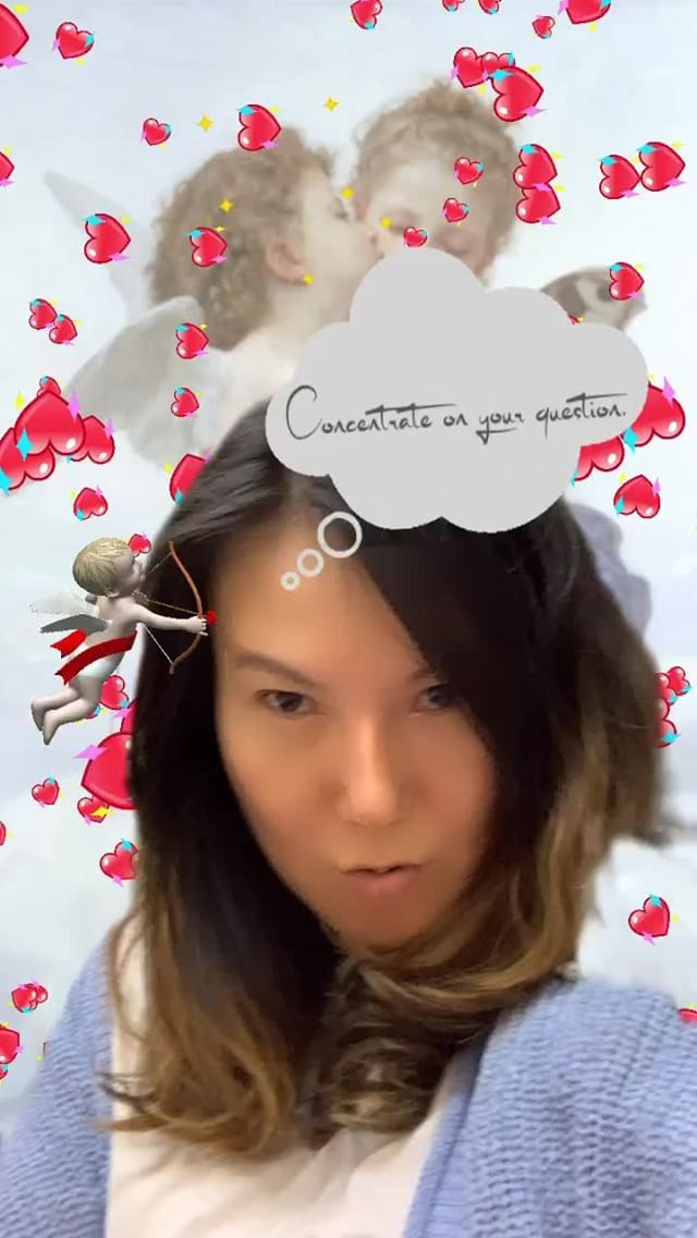 Instagram filter Ask Cupid