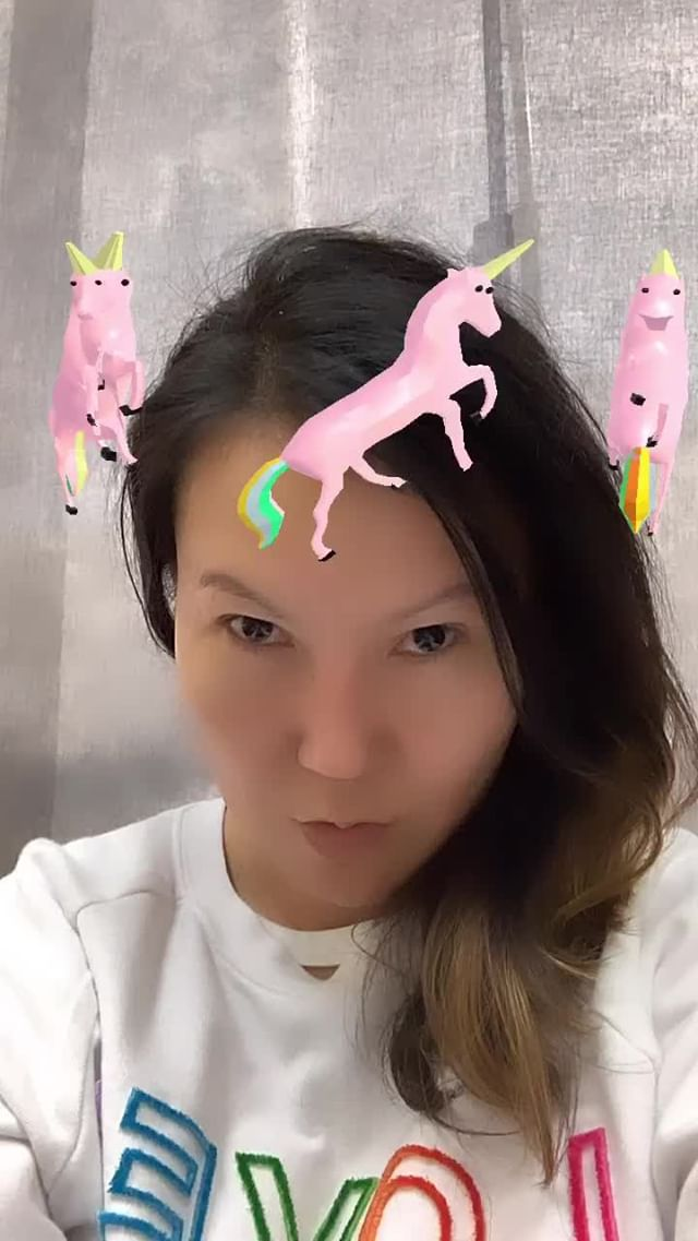 Instagram filter Unicorn Halo