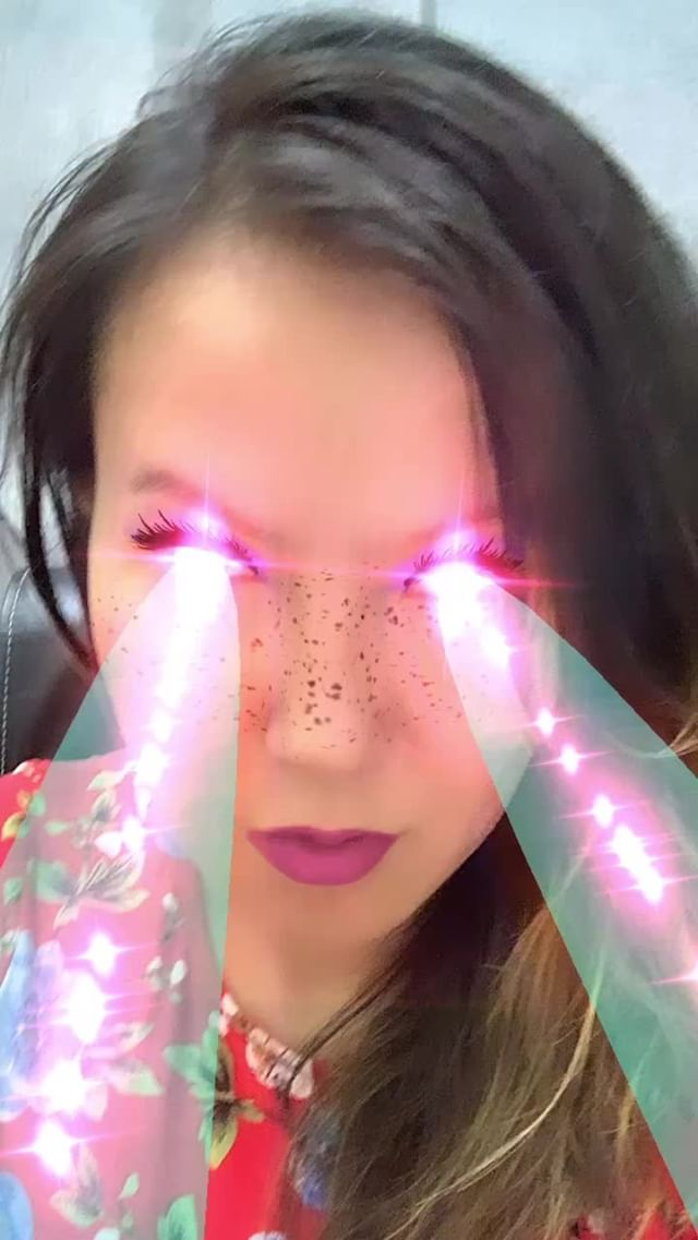 Instagram filter Laser