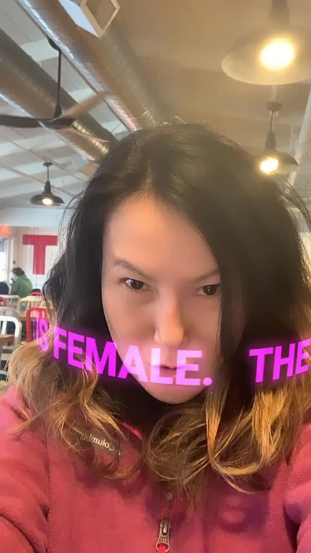 Instagram filter The Future is Female