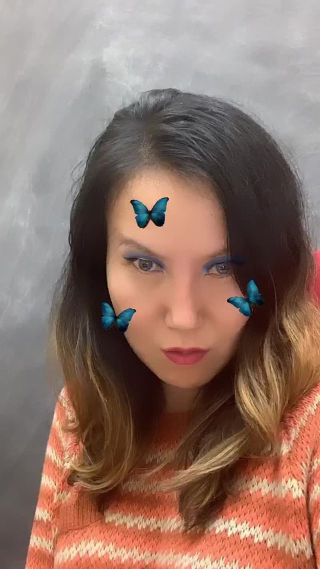 Instagram filter Blue Butterflies