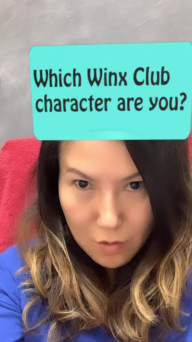 Instagram filter What Winx Character?