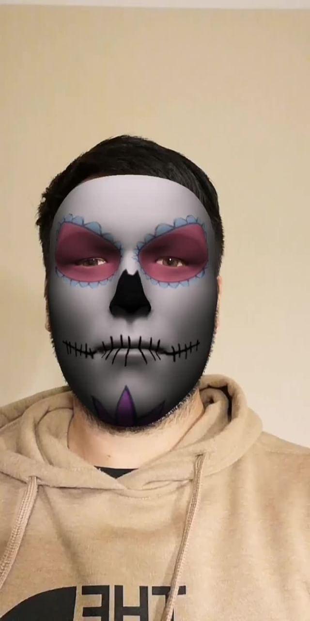 jomanr Instagram filter Makeup Catrina