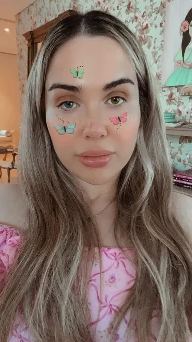 sophie Instagram filter Butterfly Cute