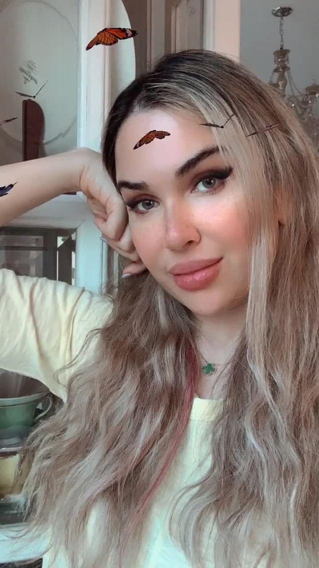 sophie Instagram filter Butterfly Love