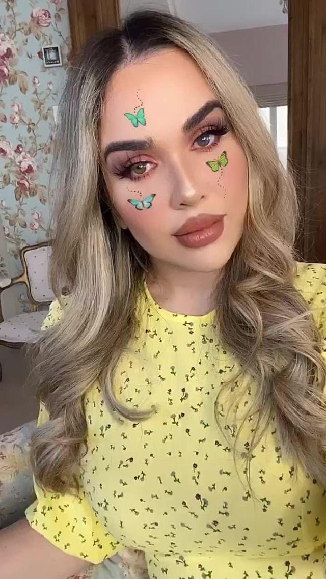 sophie Instagram filter Butterfly Pretty III