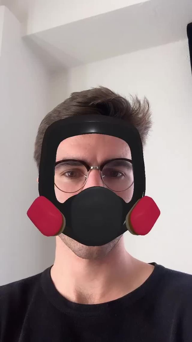 Instagram filter Breaking Bad Mask