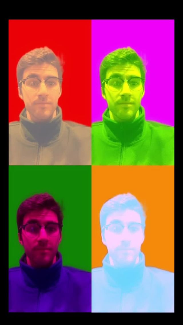 Instagram filter warhol