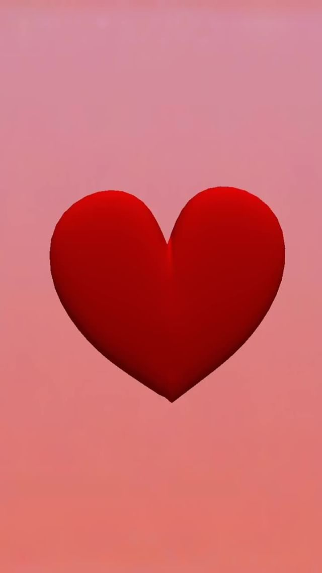 smfiltercreator Instagram filter 3D_Red_Heart