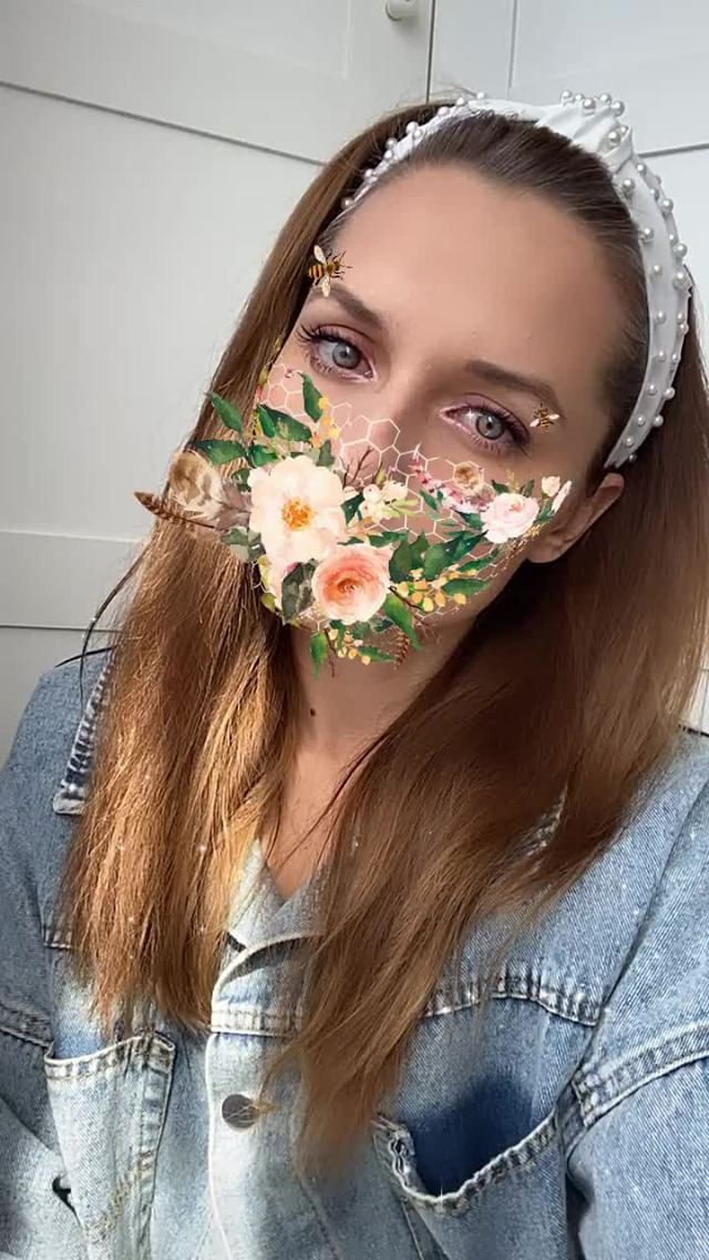 Instagram filter flowers mask