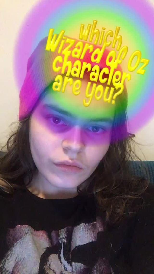 annecy.cornchip Instagram filter which wizard of oz?!