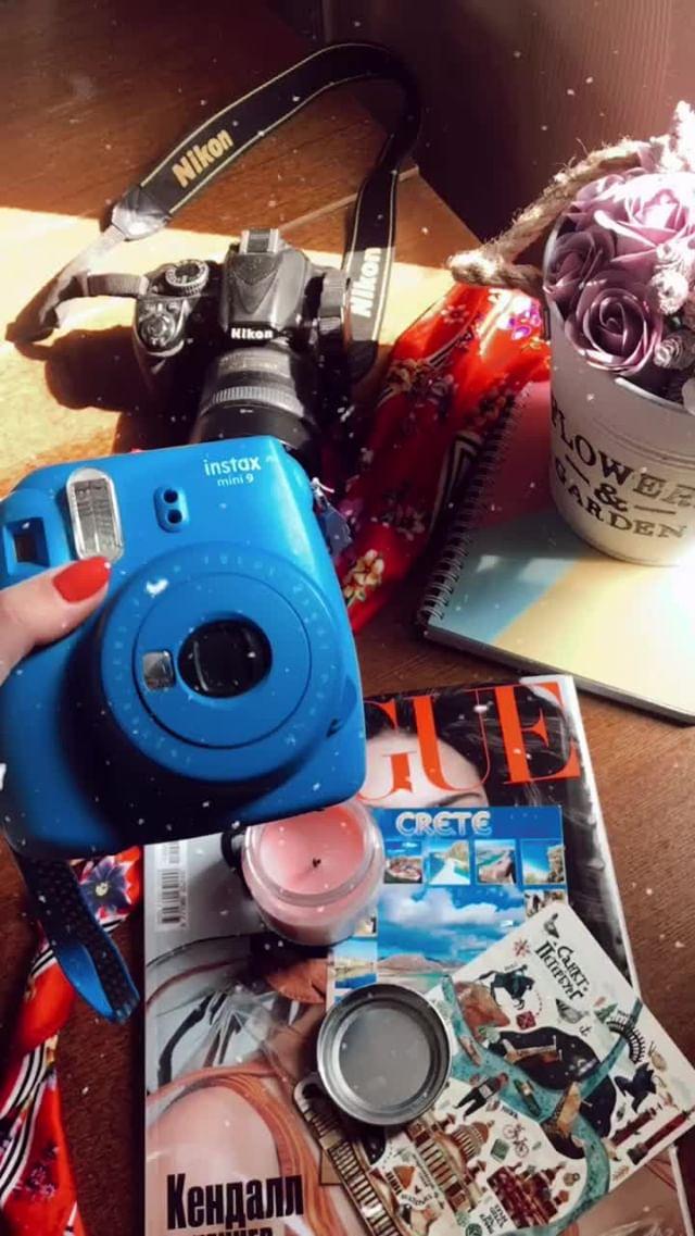 Instagram filter retro&dust