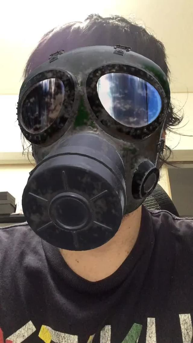 Instagram filter GasMask