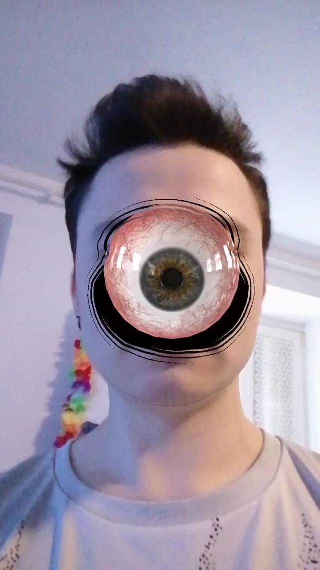 arakris_vfx Instagram filter Eye And Skull