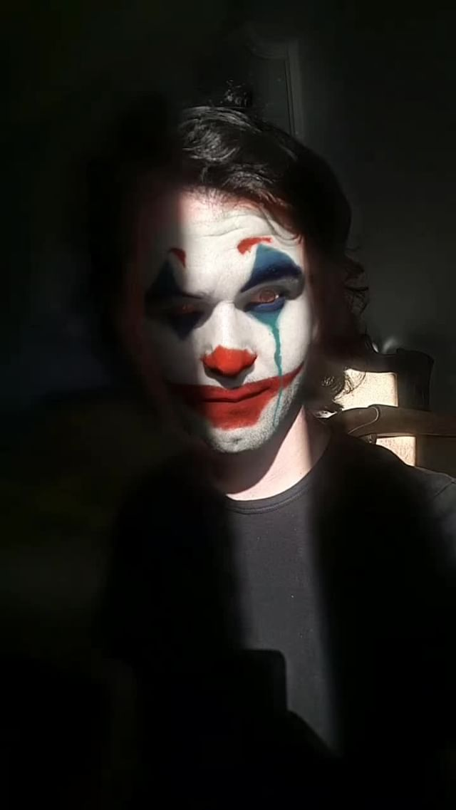 atillakaan05 Instagram filter Joker
