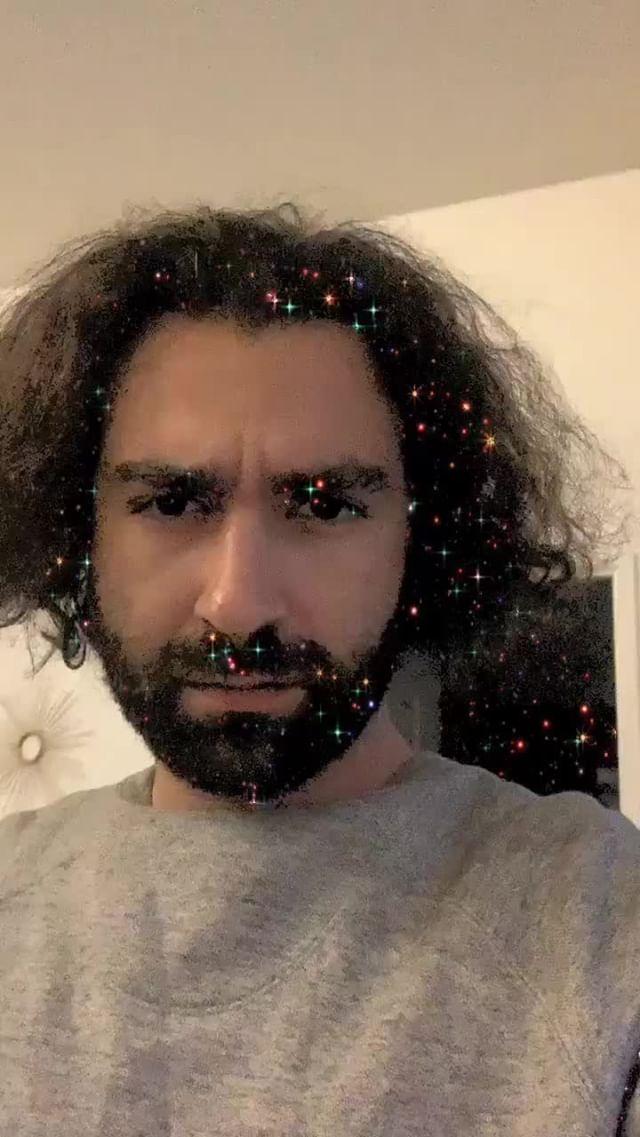 Instagram filter Sparkles on You