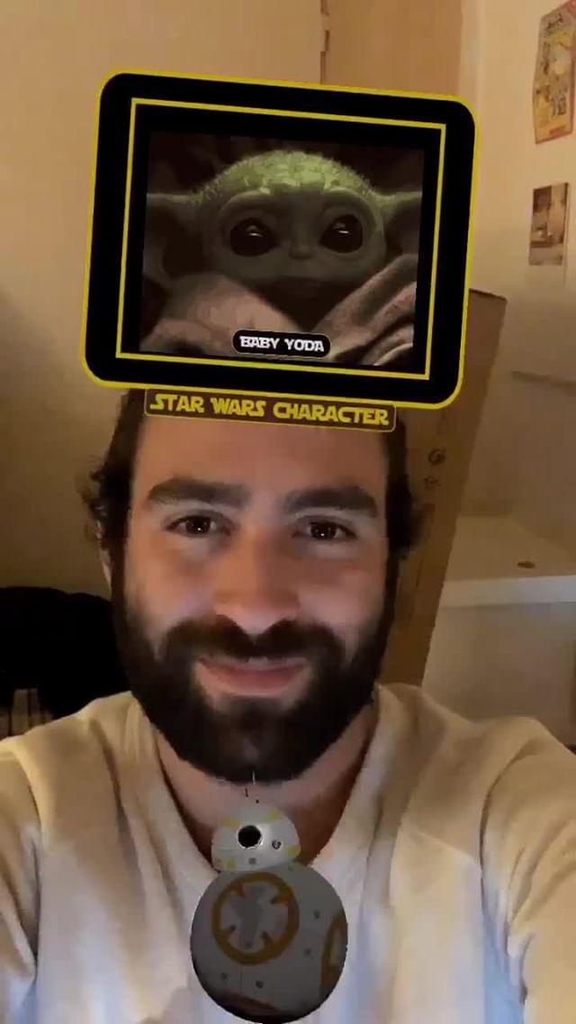 Instagram filter Star Wars Creature ?