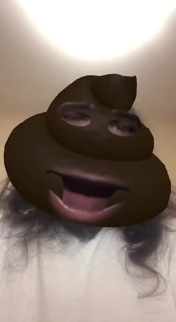 Instagram filter Poo Poo