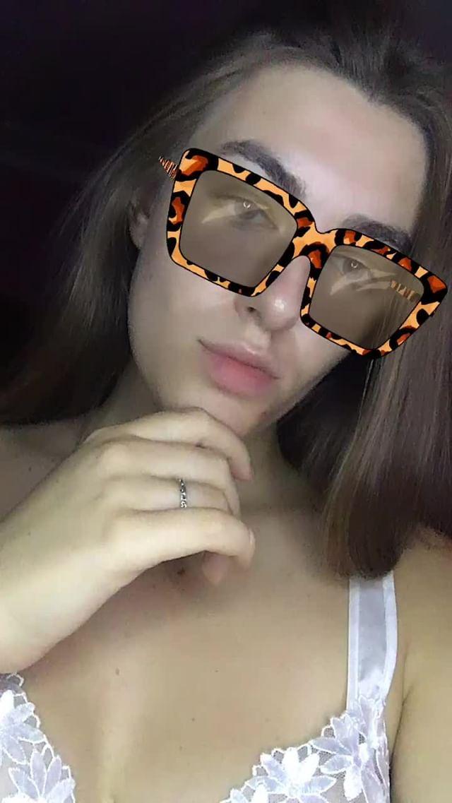 Instagram filter animal sunglasses