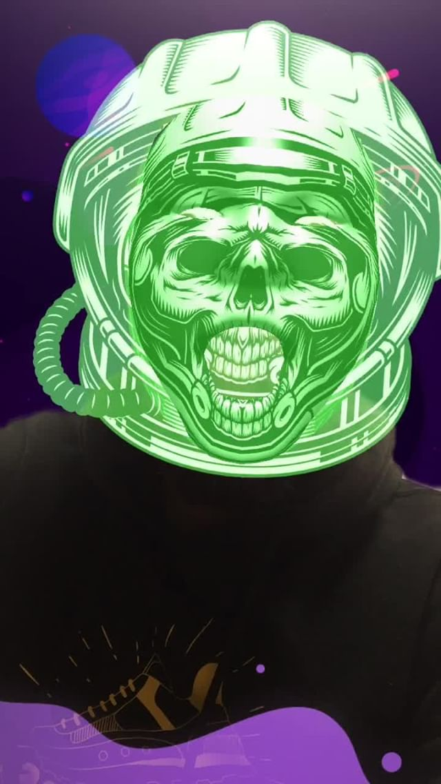 Instagram filter SkullSpace