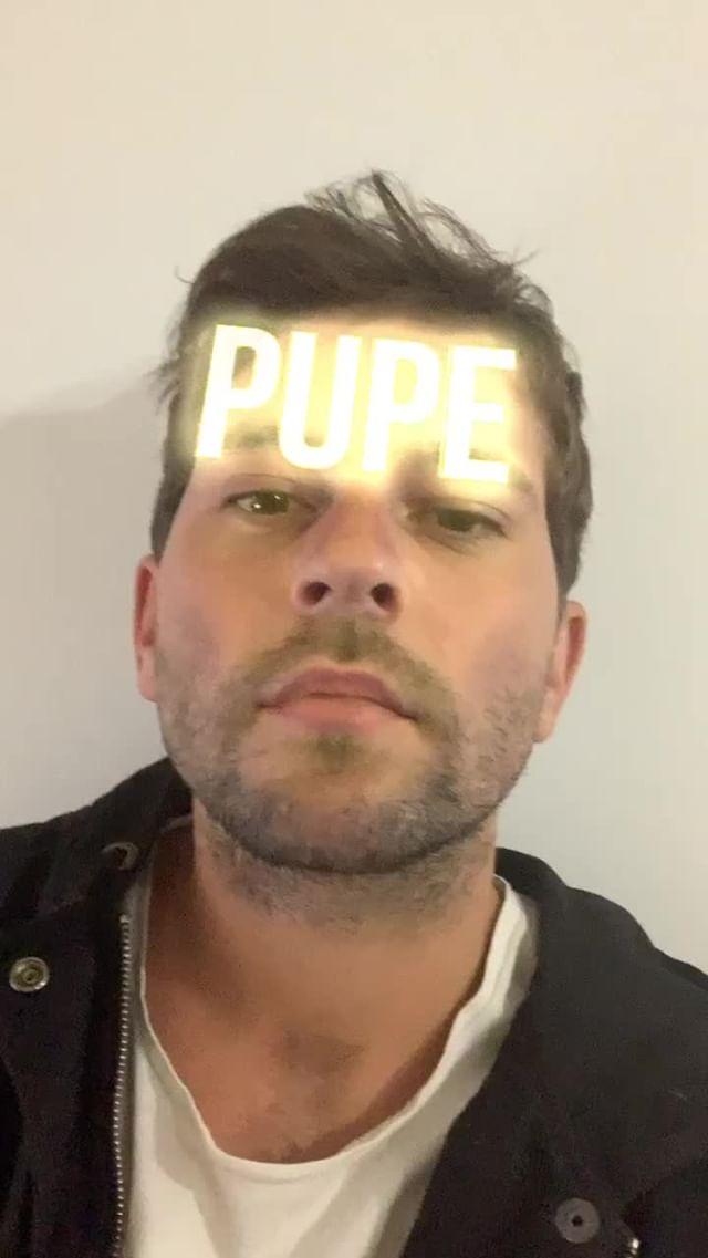 Instagram filter Pupe