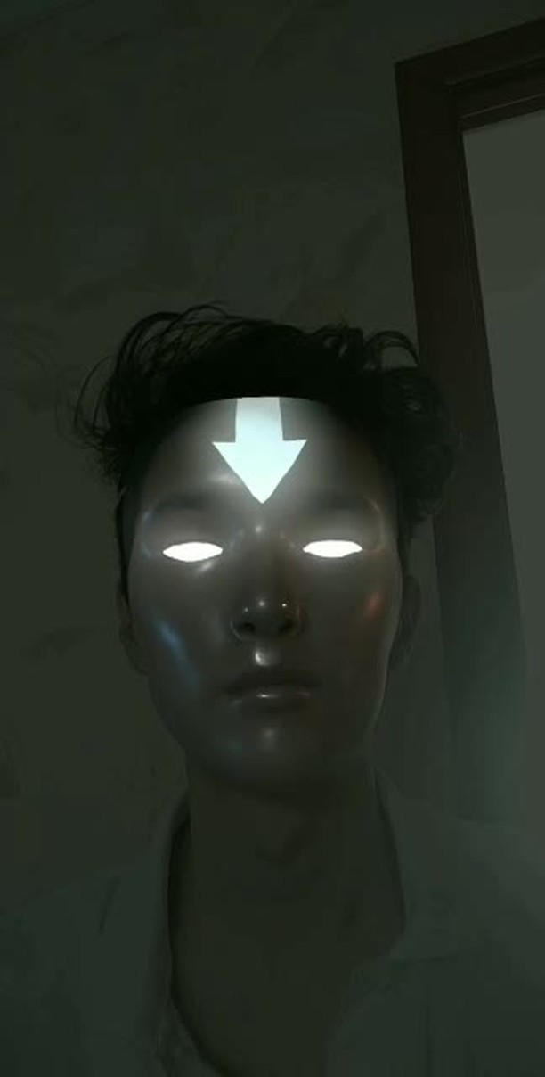 Instagram filter Avatar Aang