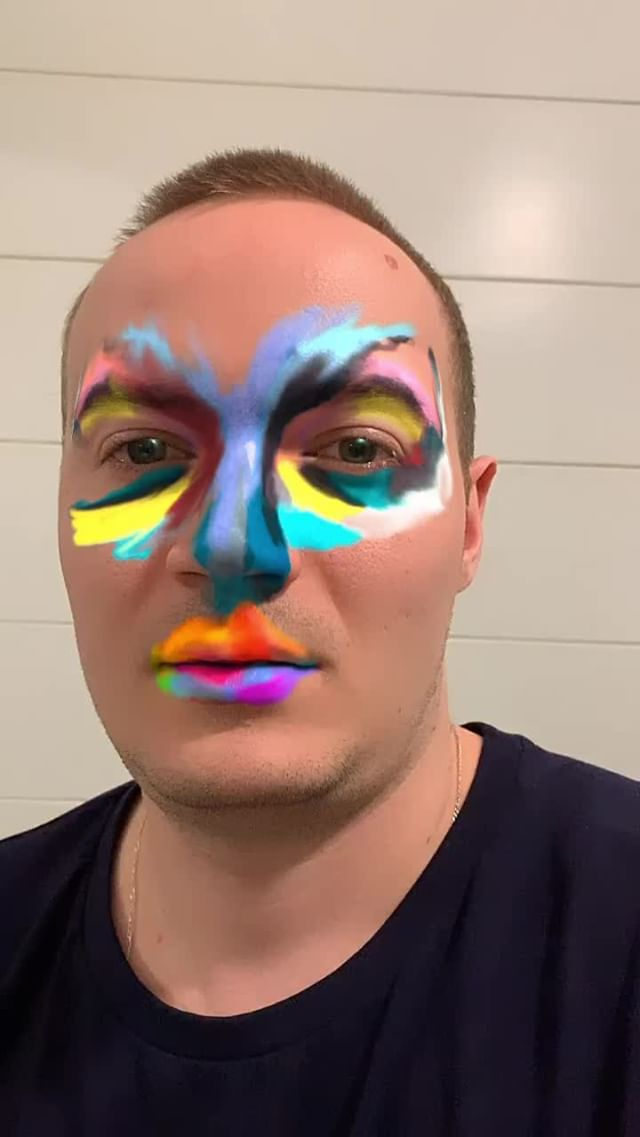Instagram filter Face Paint