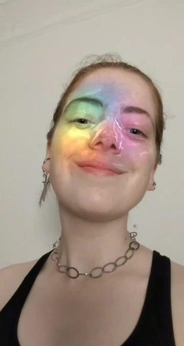 Instagram filter Digi Fairy PRIDE