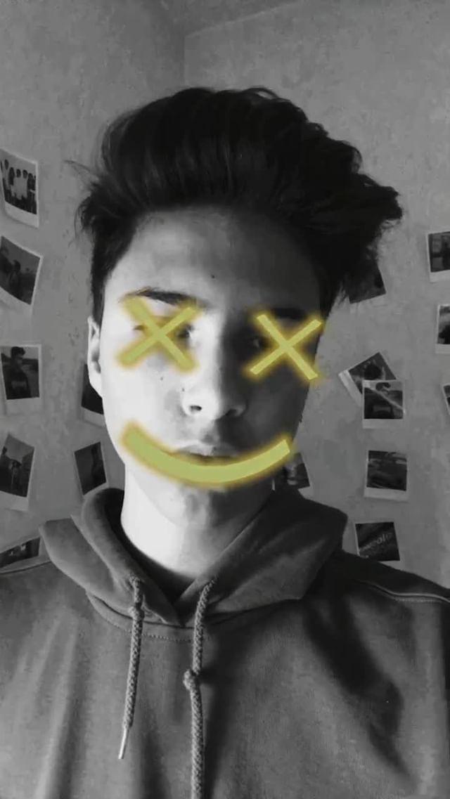 Instagram filter SMILEY