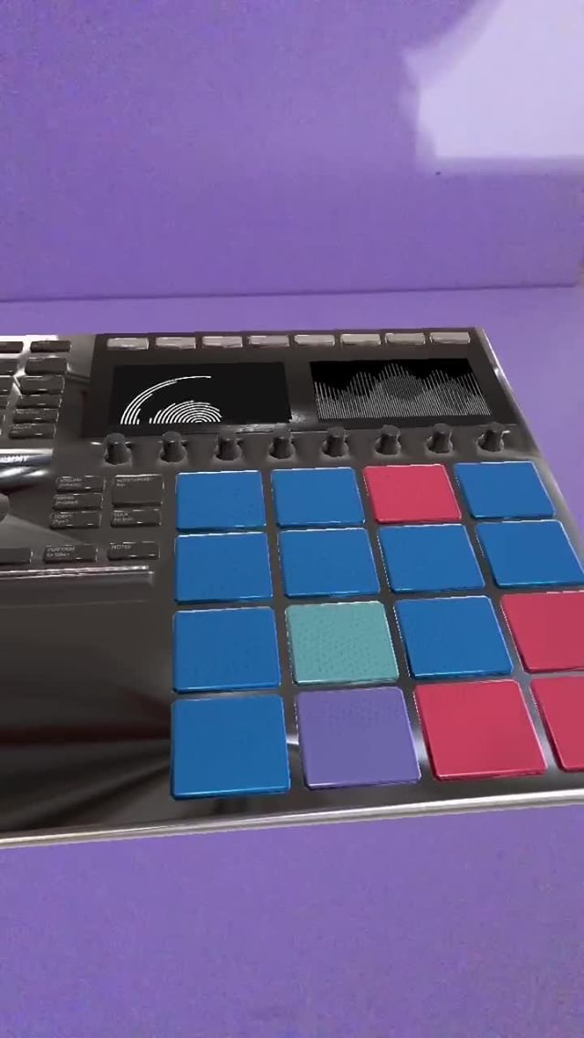 Instagram filter drum machine