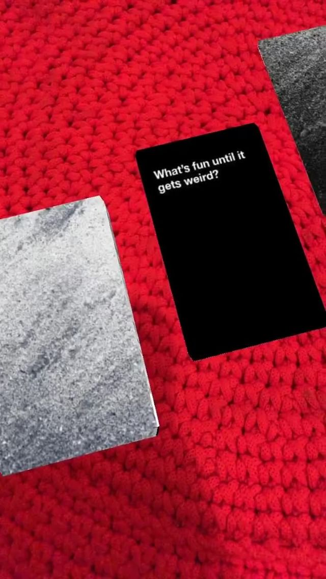 Instagram filter Cards Against