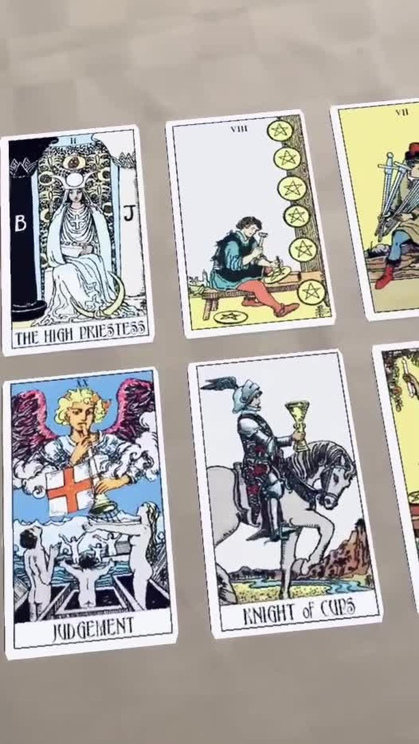 Instagram filter tarot