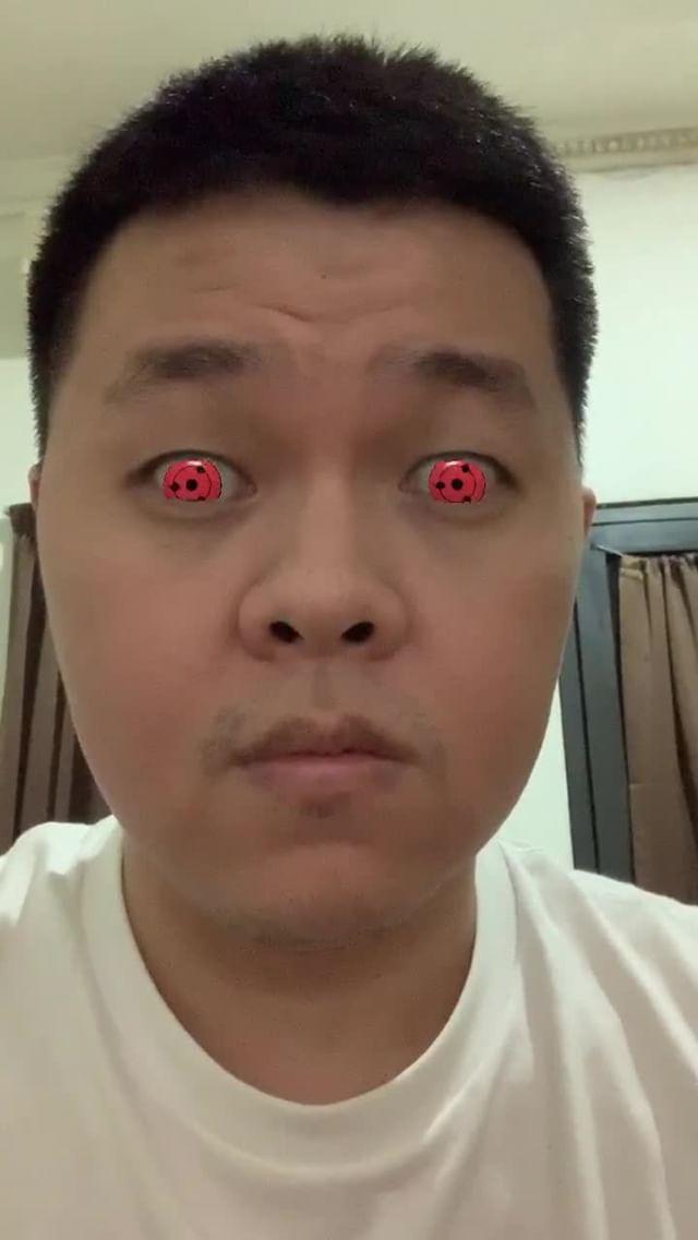 Instagram filter Naruto Eyes