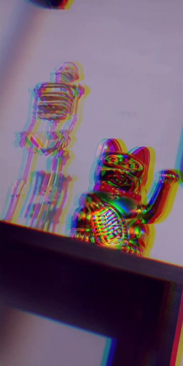 Instagram filter RGlitchB
