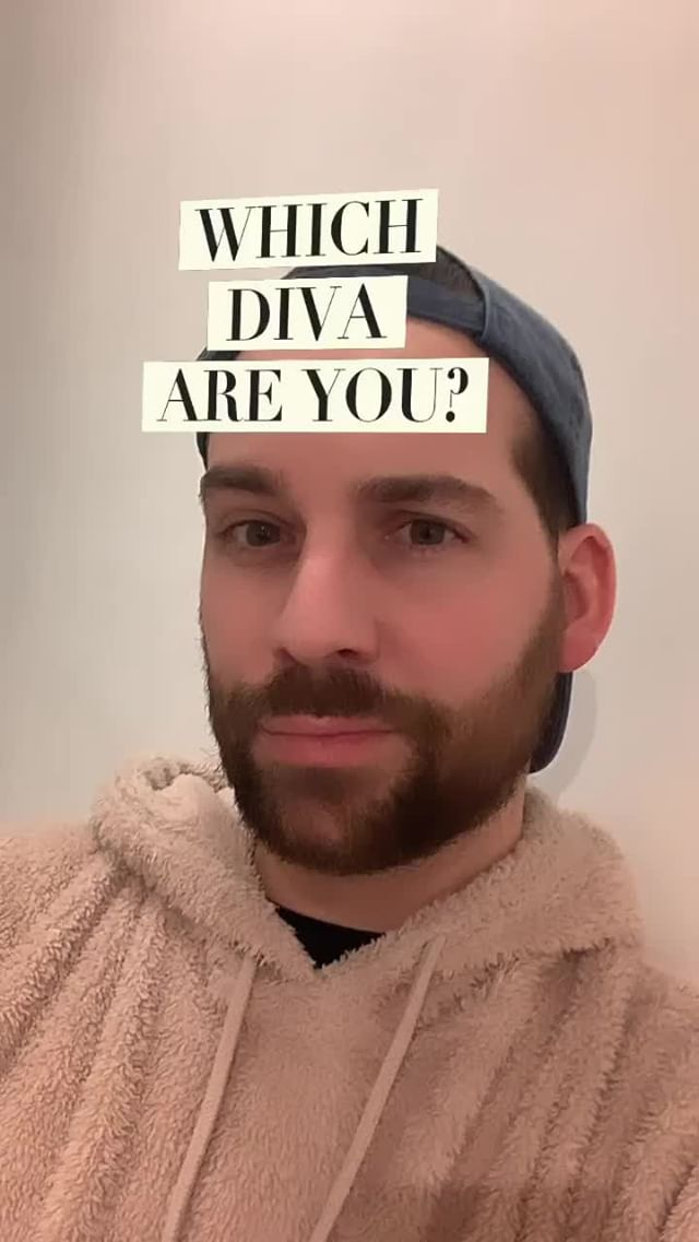 Instagram filter WHICH DIVA ARE YOU?