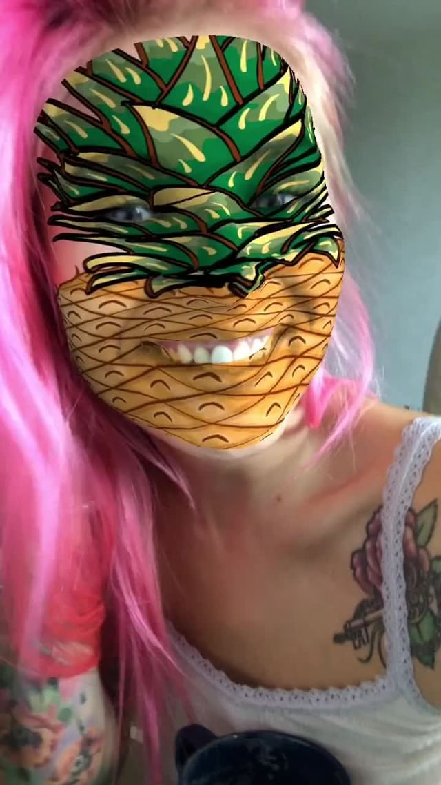 Instagram filter Ananas