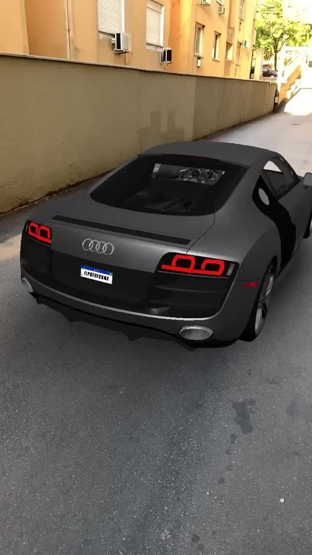 Instagram filter Audi R8