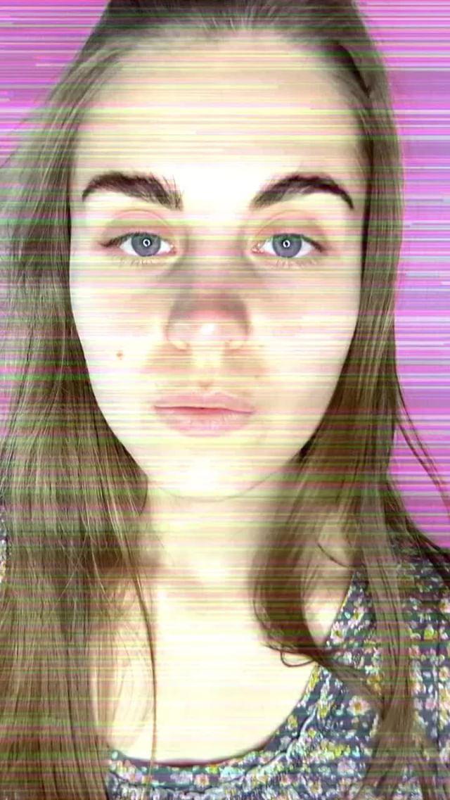 kirillsavenkov Instagram filter Glitch