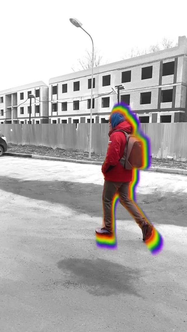 Instagram filter Rainbow