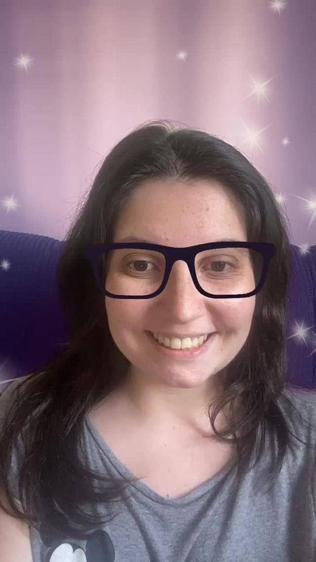 Instagram filter Purple Glasses