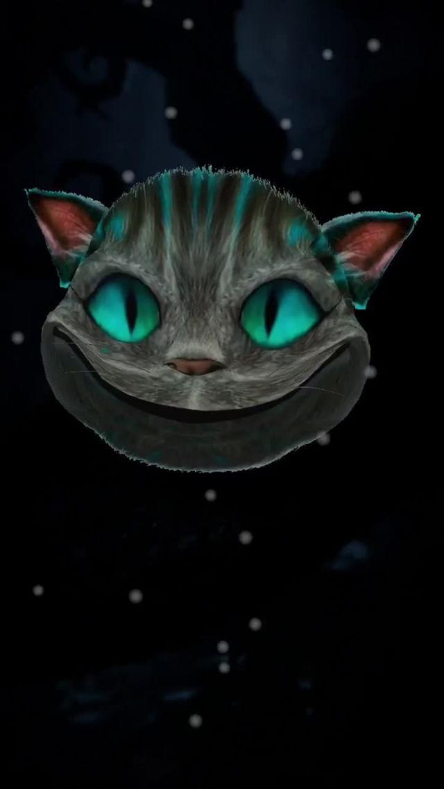 Instagram filter Cheshire Cat