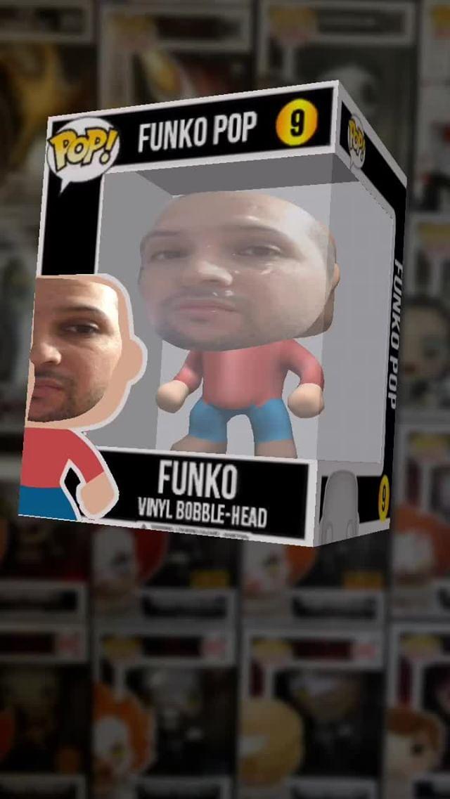 Instagram filter Funko Pop