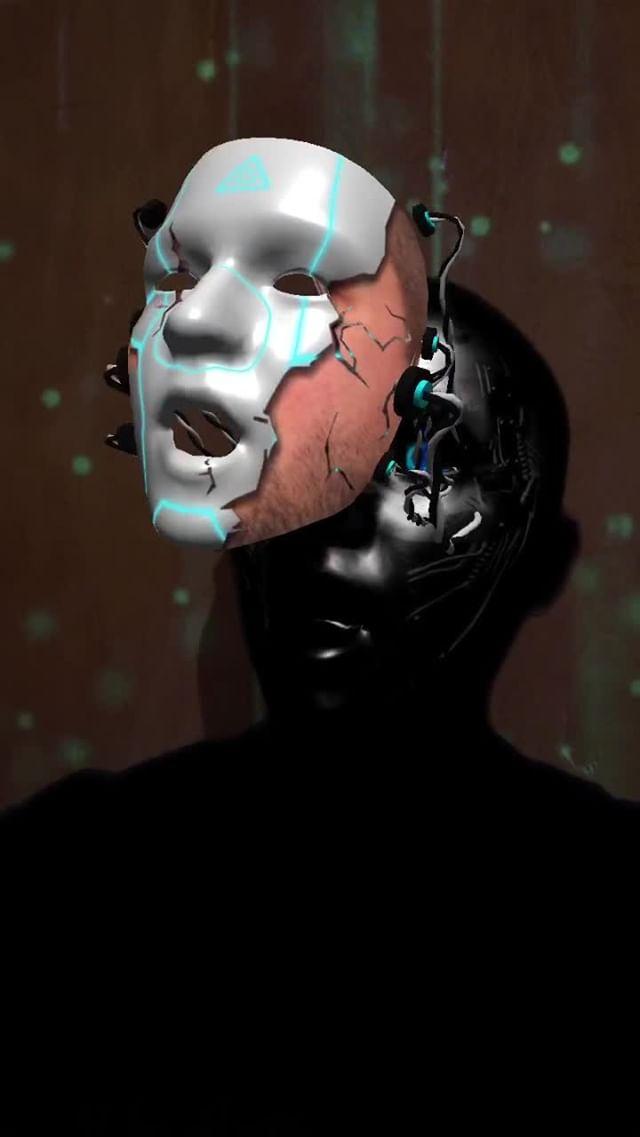Instagram filter Cyborg