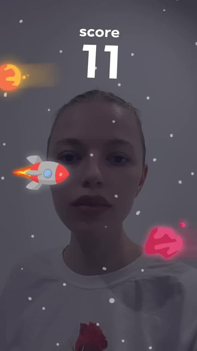 Instagram filter asteroids