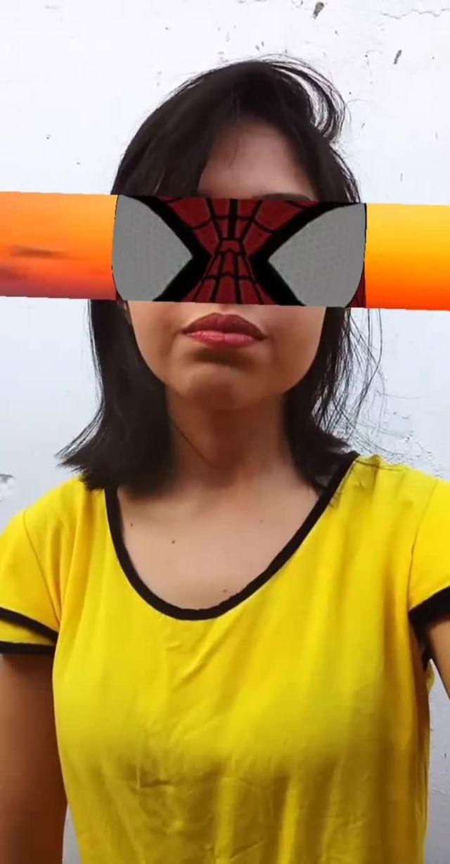 Instagram filter Homem aranha