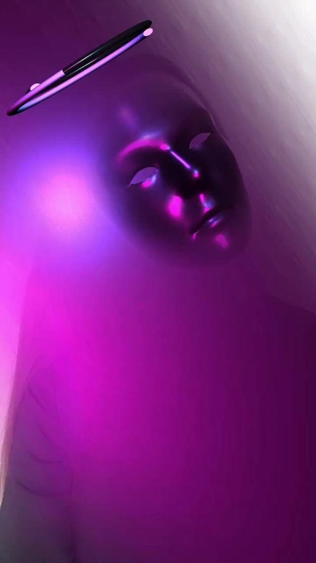 Instagram filter Purple