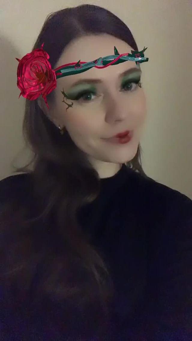 Instagram filter rose