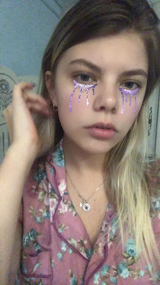 Instagram filter Euphoria mask