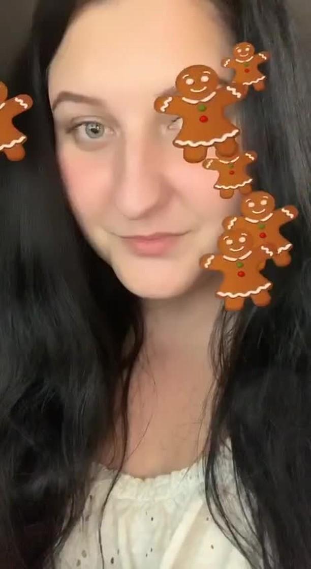 Instagram filter gingerbread