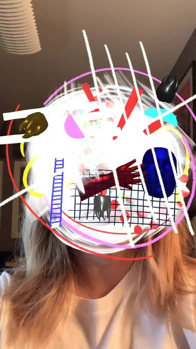 Instagram filter Art Face
